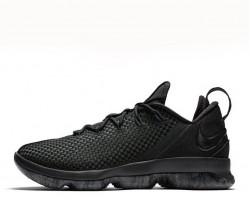Баскетбольные кроссовки Nike LeBron 14 Low Black
