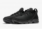 Баскетбольные кроссовки Nike LeBron 14 Low Black - Фото 4