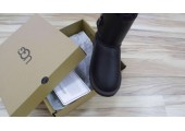 UGG BAILEY BUTTON II BOOT LEATHER BROWN - Фото 5