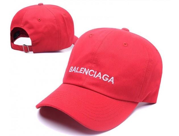 Кепка Balenciaga Hip hop Cap Red
