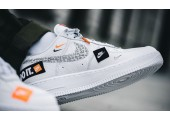 Кроссовки Nike Air Force 1 07 Just Do It Pack White - Фото 5