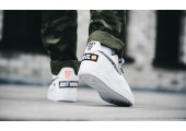 Кроссовки Nike Air Force 1 07 Just Do It Pack White - Фото 6