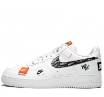 Кроссовки Nike Air Force 1 07 Just Do It Pack White