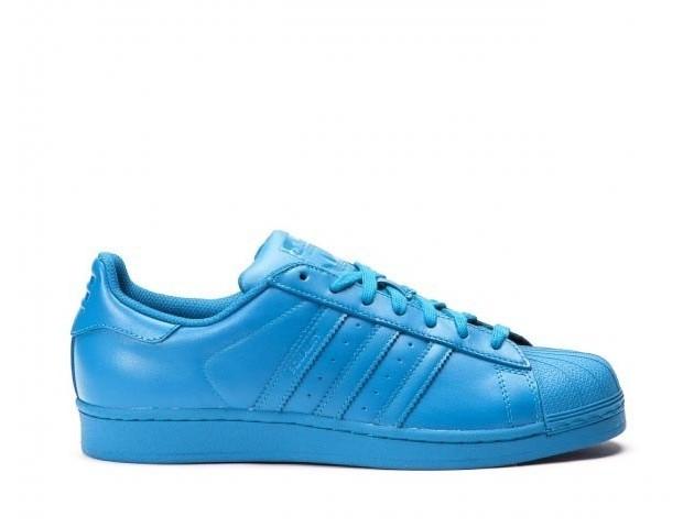 Кроссовки Adidas Superstar Supercolor Young Blue