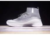 Баскетбольные кроссовки Under Armour Curry 4 Light Grey - Фото 4