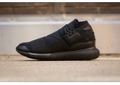 Кроссовки Adidas Y-3 Qasa High Black - Фото 6