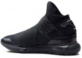 Кроссовки Adidas Y-3 Qasa High Black - Фото 2