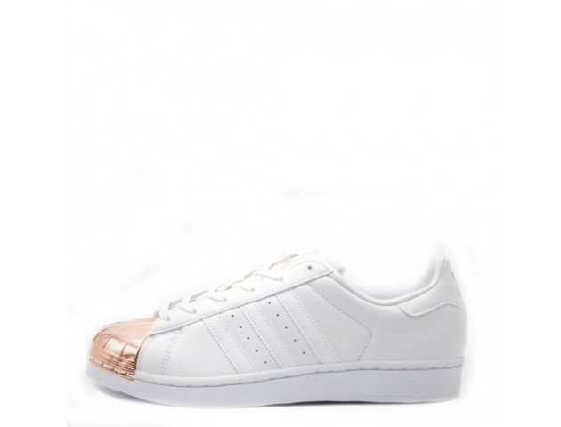 Кроссовки Adidas Superstar Metal/Toe White