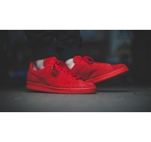 Кроссовки Adidas Stan Smith Full Red