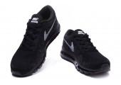 Кроссовки Nike Air Max Flyknit All Black - Фото 2
