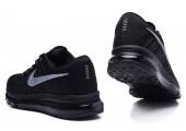 Кроссовки Nike Air Max Flyknit All Black - Фото 3