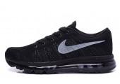 Кроссовки Nike Air Max Flyknit All Black - Фото 4