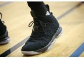 Баскетбольные кроссовки Nike LeBron 15 Black Ice - Фото 4