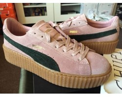 Кроссовки Puma Suede Creeper x Rihanna Coral/Cloud