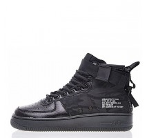 Кроссовки Nike SF Air Force 1 Utility Mid All Black