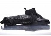 Кроссовки Nike SF Air Force 1 Utility Mid All Black - Фото 4