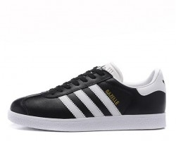 Кроссовки Adidas Gazelle Vintage Leather Black