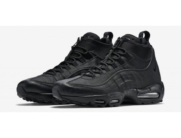 Кроссовки Nike Air Max 95 Sneakerboot All Black
