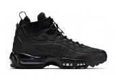 Кроссовки Nike Air Max 95 Sneakerboot All Black - Фото 2