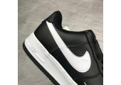 Кроссовки Nike Air Force 1 Low AF1 Black - Фото 2