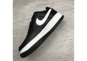 Кроссовки Nike Air Force 1 Low AF1 Black - Фото 9