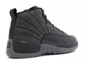 Кроссовки Nike Air Jordan 12 Retro Wool Grey - Фото 3