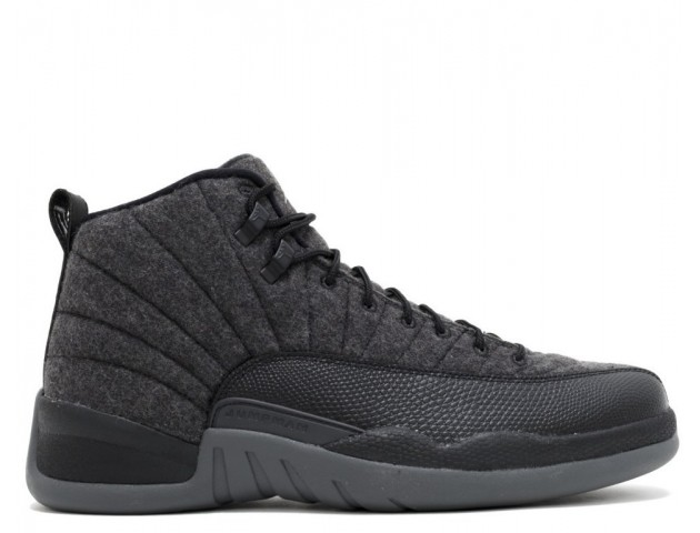 Кроссовки Nike Air Jordan 12 Retro Wool Grey