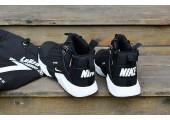 Кроссовки Nike Huarache X Acronym City MID Leather Black/White - Фото 6