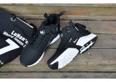 Кроссовки Nike Huarache X Acronym City MID Leather Black/White - Фото 5