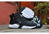 Кроссовки Nike Huarache X Acronym City MID Leather Black/White - Фото 3