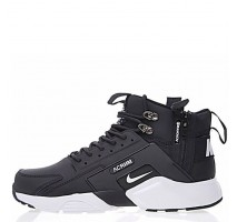 Кроссовки Nike Huarache X Acronym City MID Leather Black/White