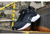 Кроссовки Nike Huarache X Acronym City MID Leather Black/White - Фото 2