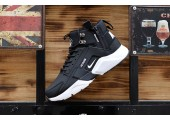 Кроссовки Nike Huarache X Acronym City MID Leather Black/White - Фото 4