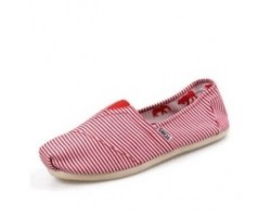Эспадрильи Toms Classic White/Red