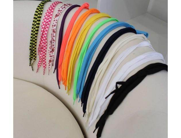 Набор плоских шнурков 3 шт любых цветов на выбор!!!