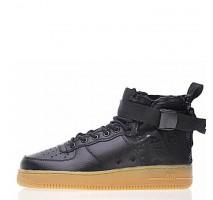 Кроссовки Nike SF Air Force 1 Utility Mid Black/Gum