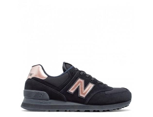 Кроссовки New Balance 574 Black With Steel