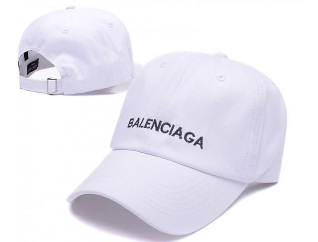 Кепка Balenciaga Hip hop Cap White