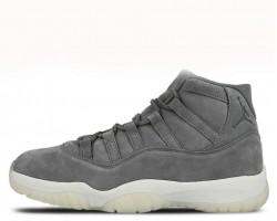 Баскетбольные кроссовки Air Jordan 11 Retro Premium Grey Suede