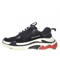Кроссовки Balenciaga Triple-S Black/White/Red