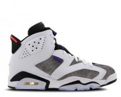 Баскетбольные кроссовки Nike Air Jordan 6 Retro White/Grey