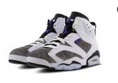 Баскетбольные кроссовки Nike Air Jordan 6 Retro White/Grey - Фото 6