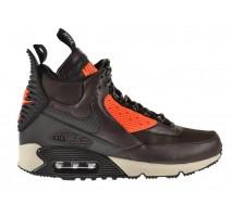 Кроссовки Nike Air Max 90 SneakerBoot Velvet Brown/Hyper Crimson