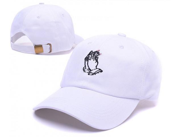 Кепка Ripndip Peaked Cap White