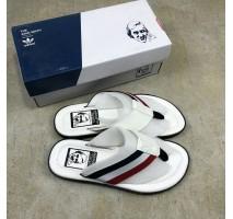 Шлепанцы Adidas Stan Smith City White/Black/Red