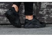 Кроссовки Nike Air Huarache Triple Black - Фото 10