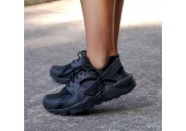 Кроссовки Nike Air Huarache Triple Black - Фото 8