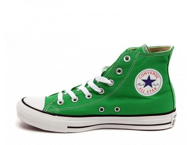 Кеды Converse All Star Chuck Taylor High Green