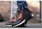 Кроссовки Nike Air Max 90 SneakerBoot Brown/Crimson - Фото 1