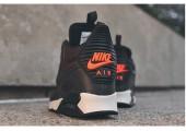 Кроссовки Nike Air Max 90 SneakerBoot Brown/Crimson - Фото 3